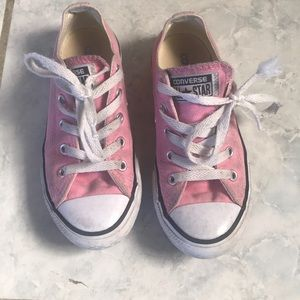 Girls Kids Pink 13.5 Coverse 💗💗